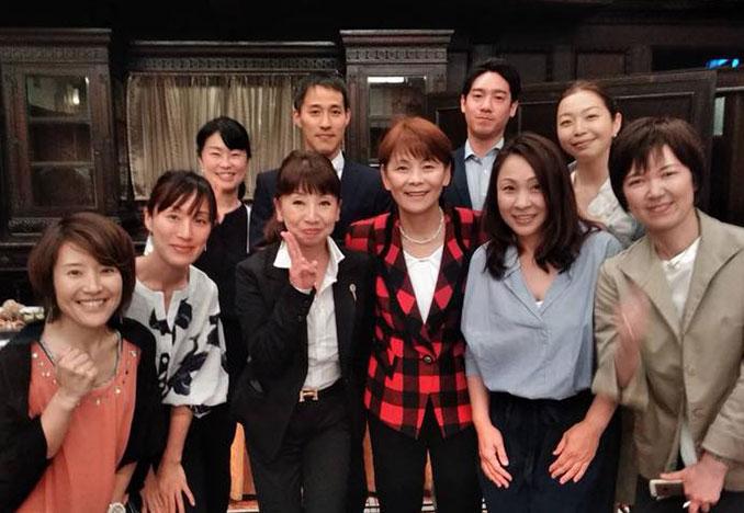 元日本女子ソフトボール日本代表監督 宇津木さんと院長、学院生