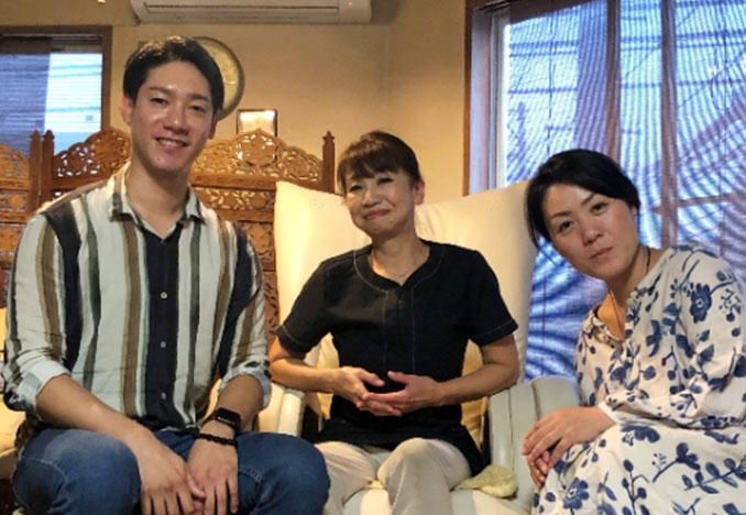 土田院長、円田講師、山村さん